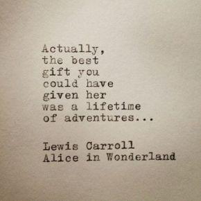 lifetime of adventures