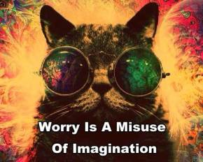 imagination stress worry mind discipline