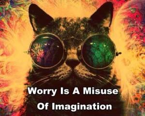 imagination stress worry mind discipline