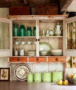 Simple Old World Kitchen