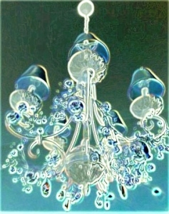 chandelier skeleton ghost