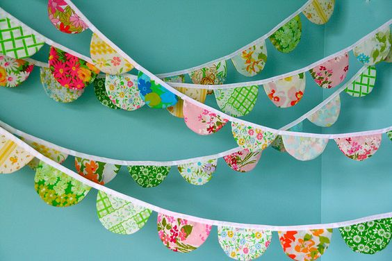Scalloped Garland